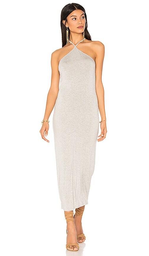 Clayton Maliya Midi Dress in Gray