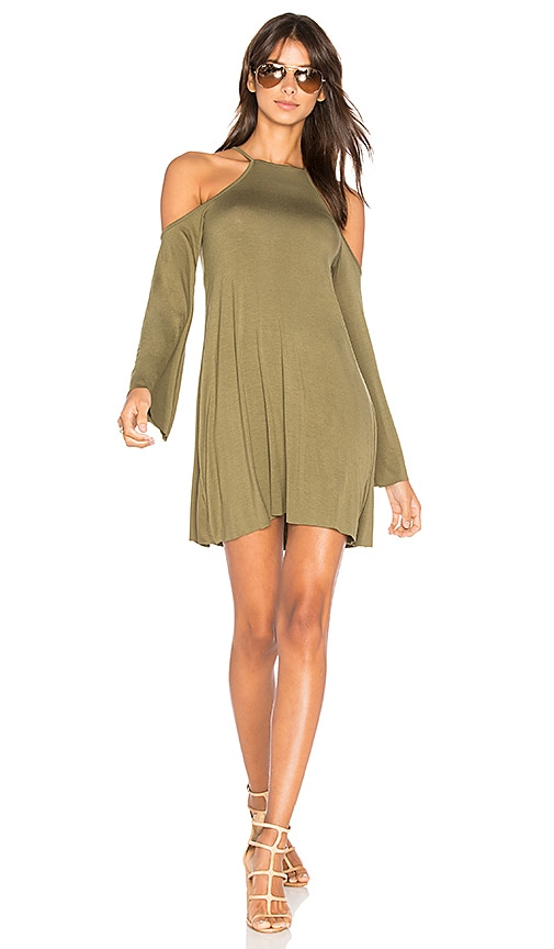 Clayton Everly Dress in Green