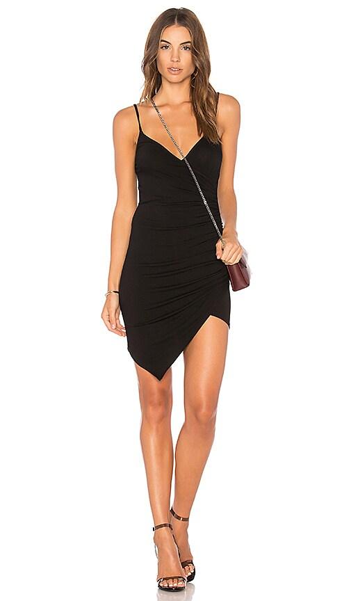 Clayton Lottie Dress in Black