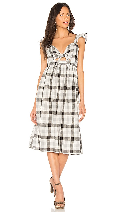 Clayton Rosie Dress in Black & White
