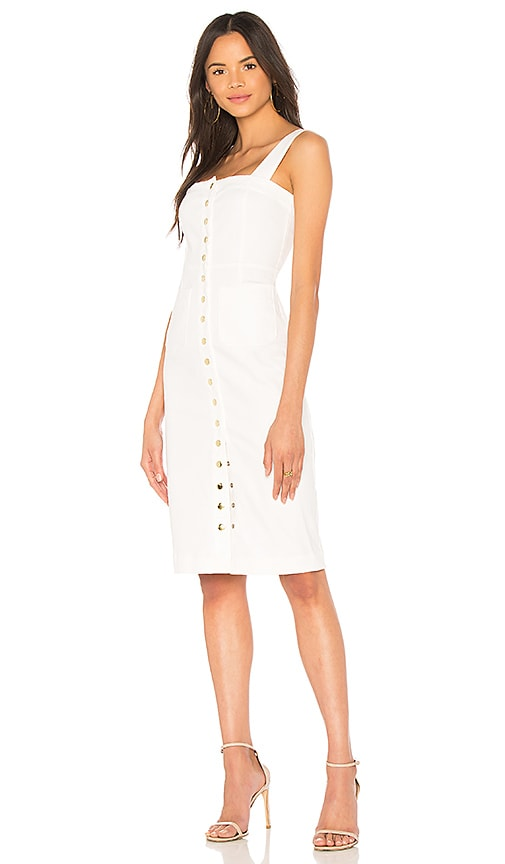 Clayton Candace Dress in White