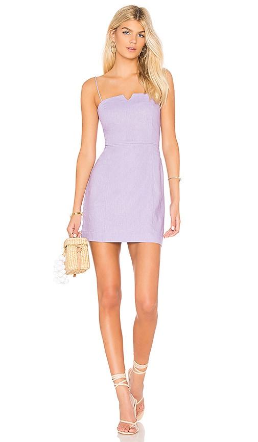 Clayton Carol Dress in Purple