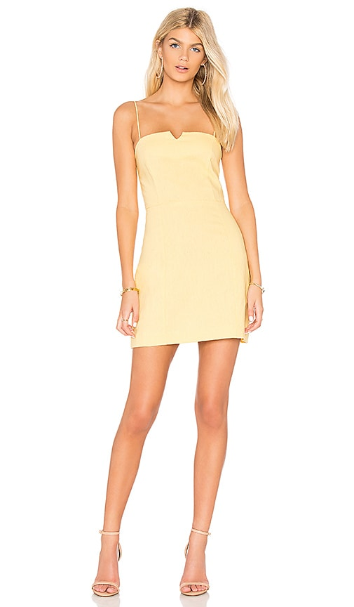Clayton Carol Dress in Yellow