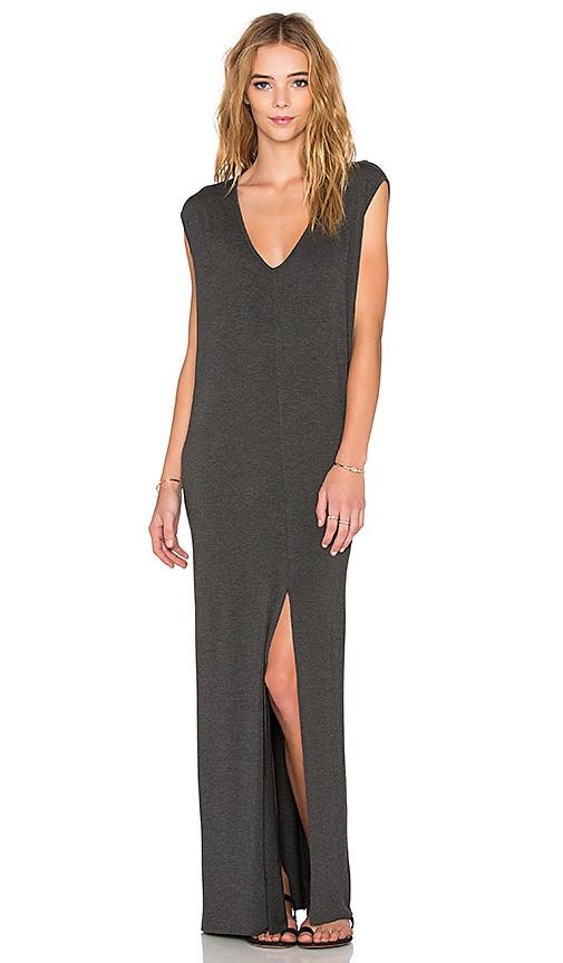 Clayton x REVOLVE Roper Maxi Dress in Charcoal