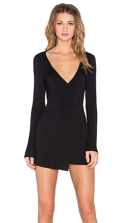Clayton Bree Dress in Black