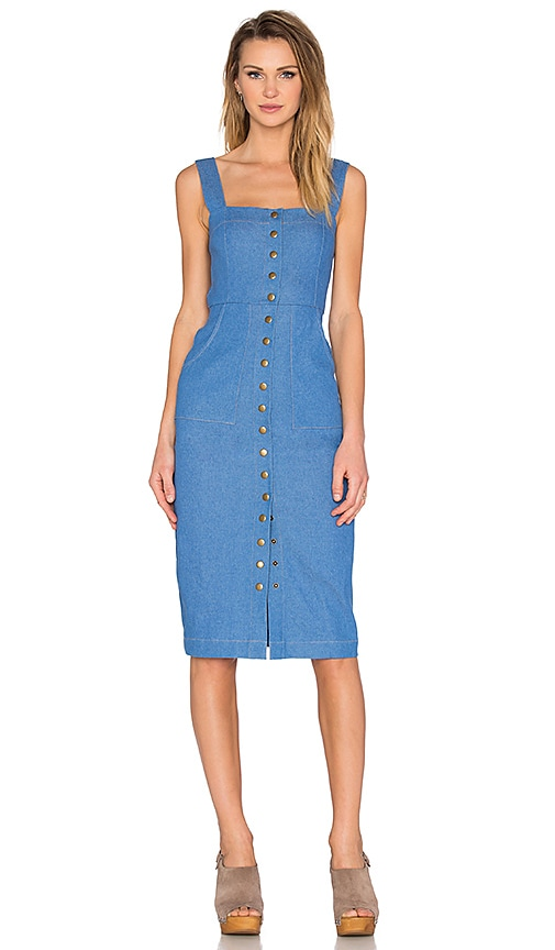 Clayton Denim Candace Dress in Denim