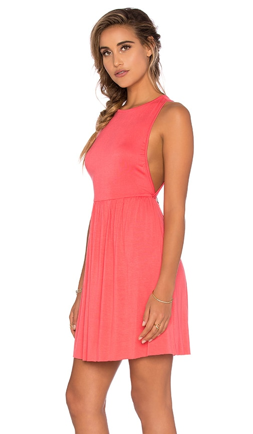 Clayton Amber Dress in Coral