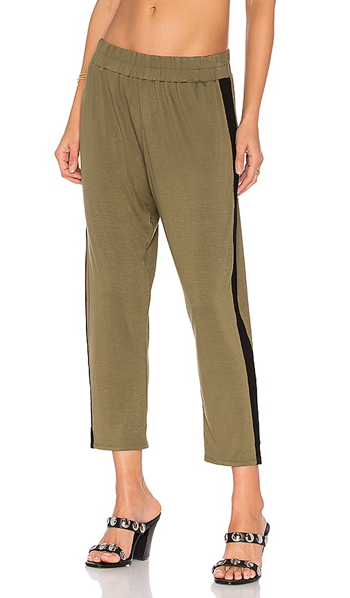 Clayton Track Pant in Olive