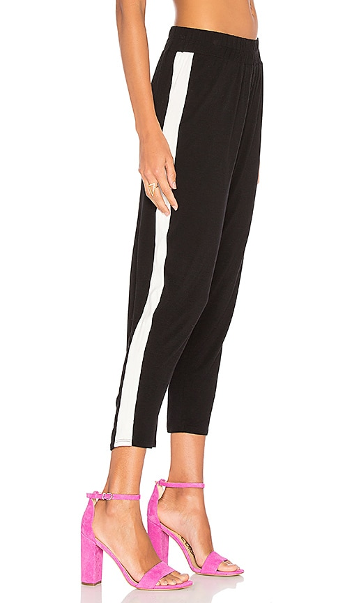 Clayton Track Pant in Black