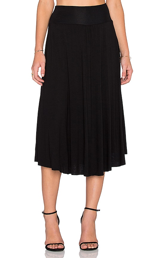 Clayton Cameron Skirt in Black