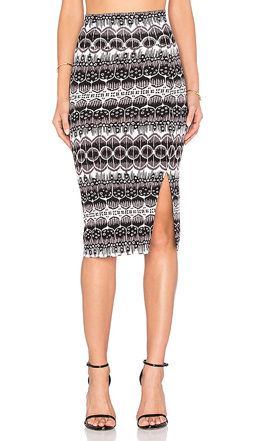 Clayton Pencil Skirt in Black