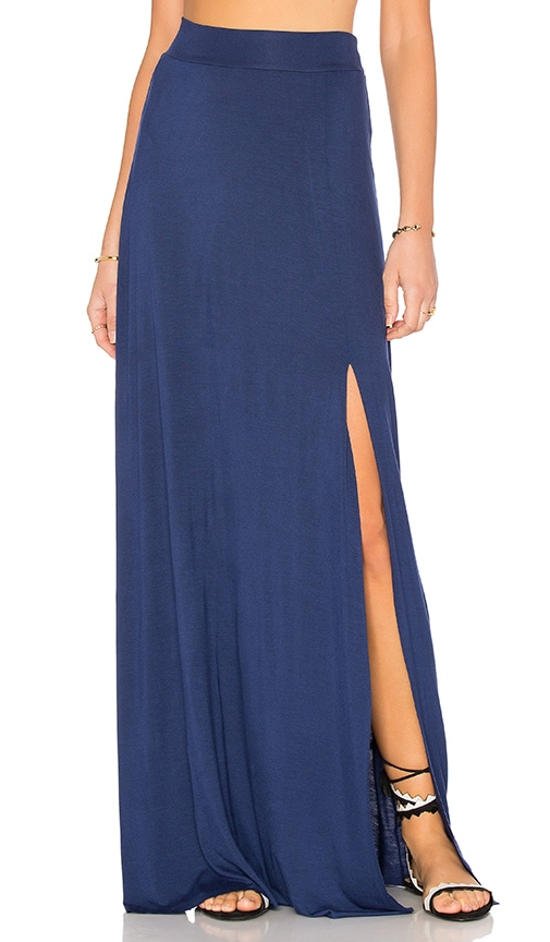 Clayton Sarah Maxi Skirt in Navy