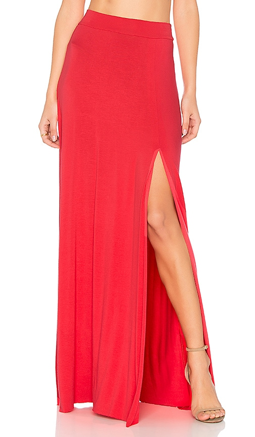 Clayton Sarah Skirt in Red