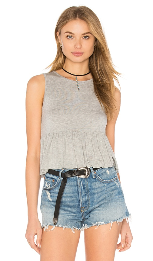 Clayton Riya Tank in Gray