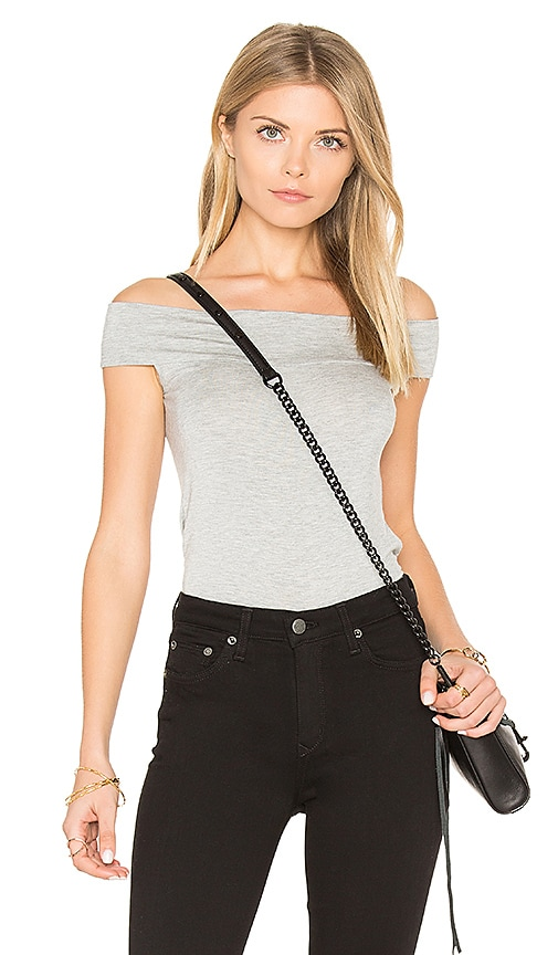 Clayton Anais Top in Gray