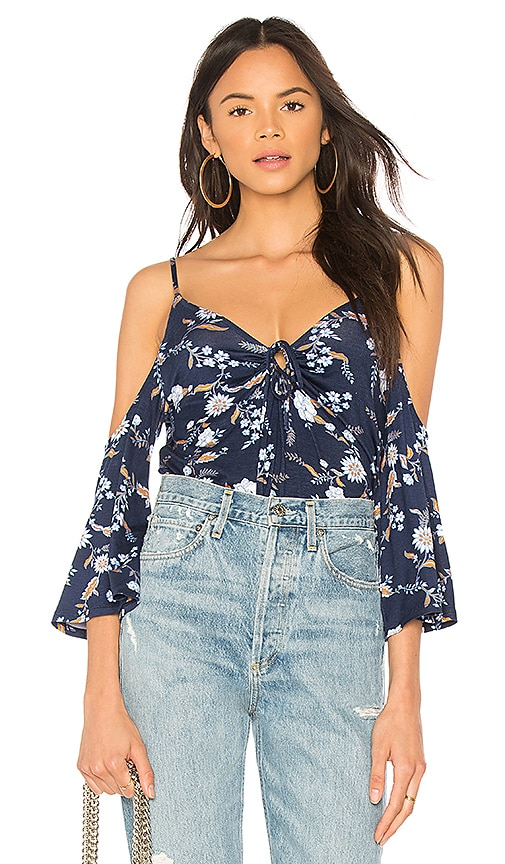Clayton Paolina Top in Navy