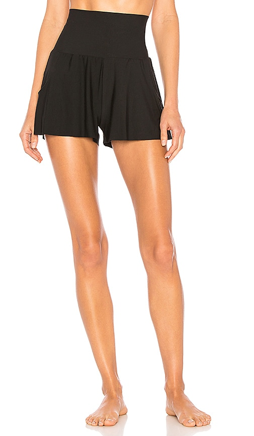 Commando Butter High Rise Short in Black