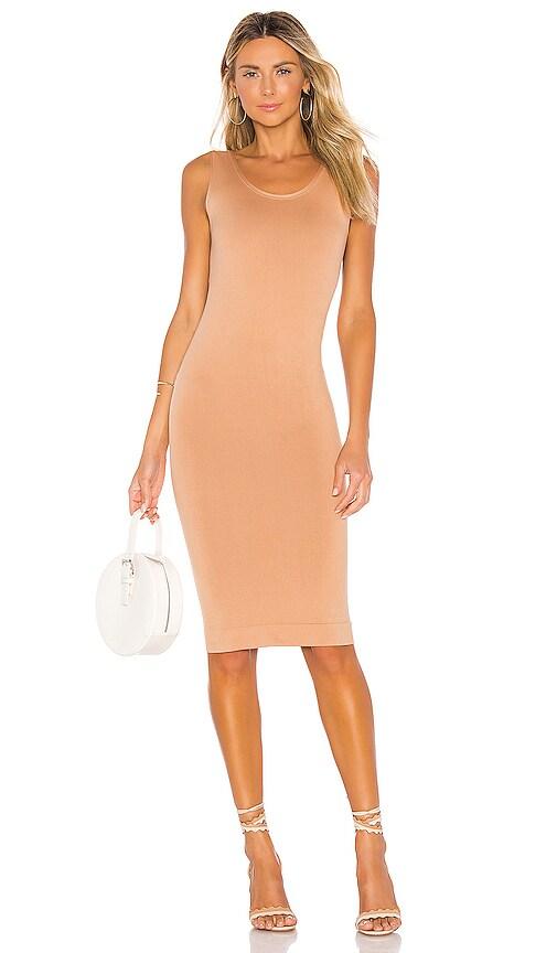 Minimalist Tank Midi Dress