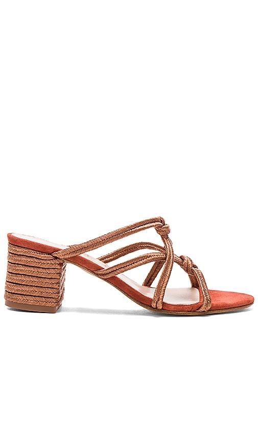 Carmelinas Ibiza Heel in Rust