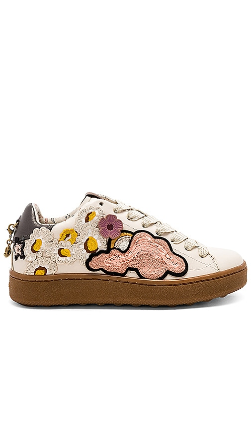 Coach 1941 Cloud Patches Sneaker in Ivory