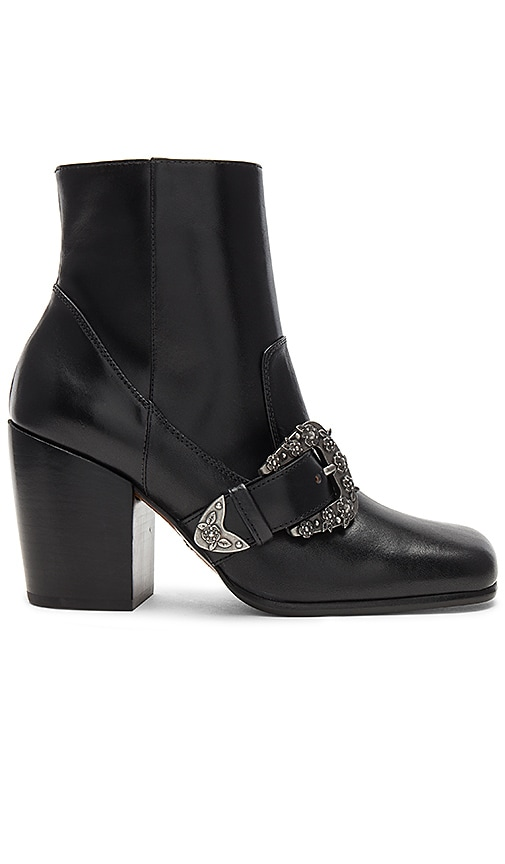 Coach 1941 Western Buckle Bootie in Black
