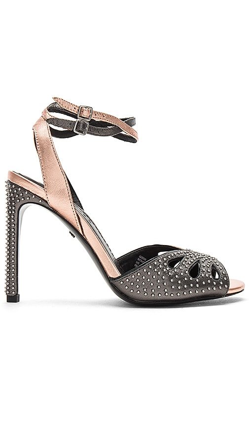 Coach 1941 Prairie Rivets Metallic Heel in Metallic Copper