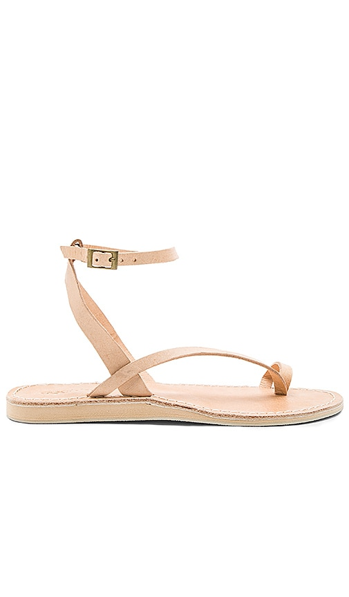 cocobelle Spartan Sandals in Beige