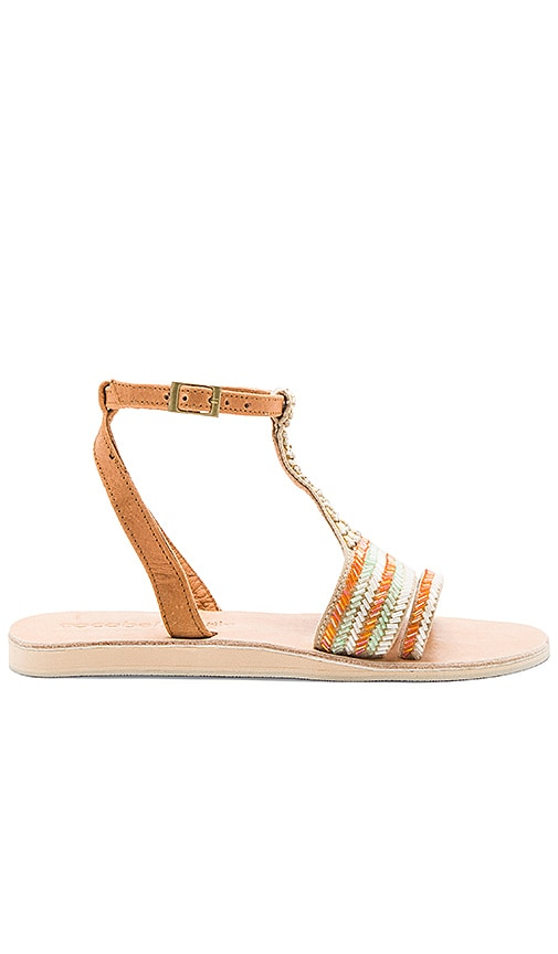 cocobelle St. Jean Sandals in Tan