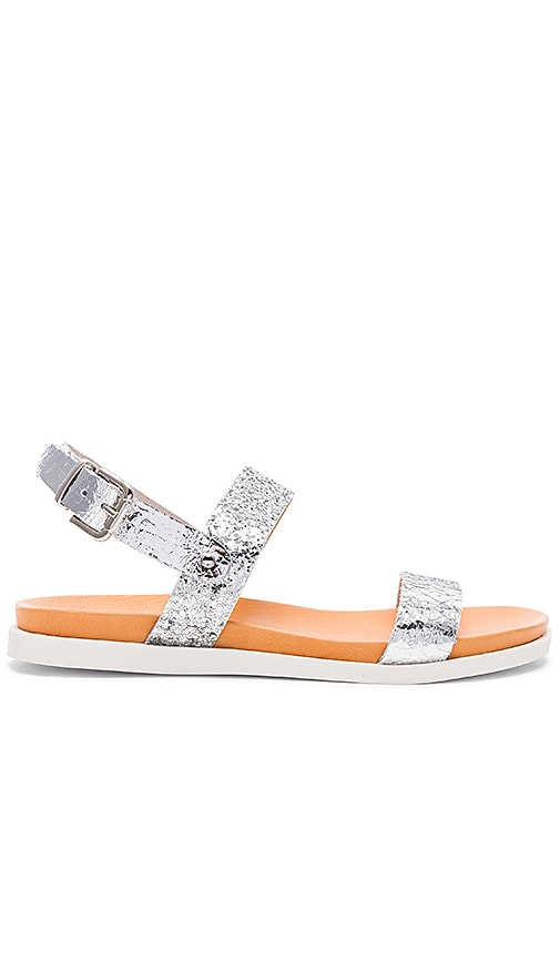 cocobelle Salentina Sandals in Metallic Silver