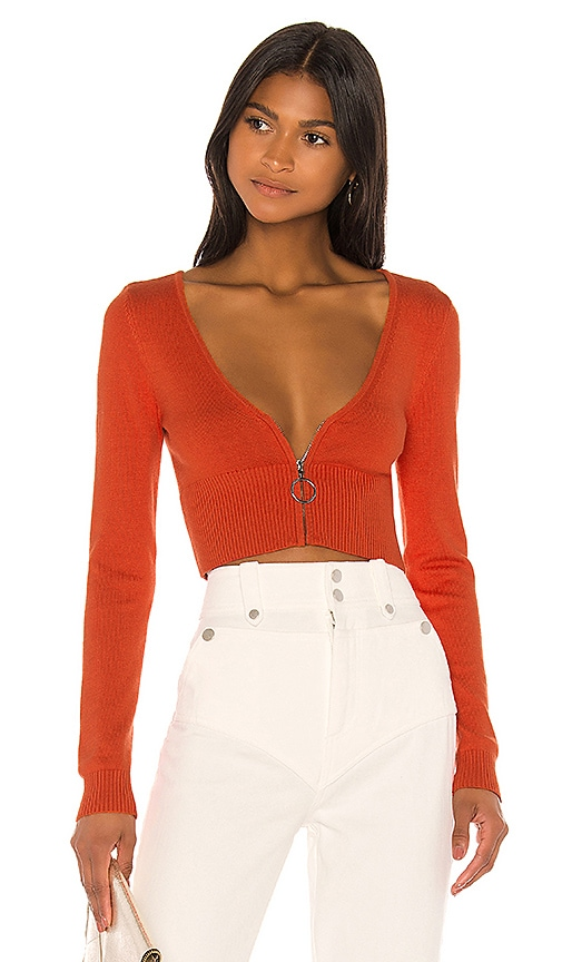 Caryn Zip Up Sweater