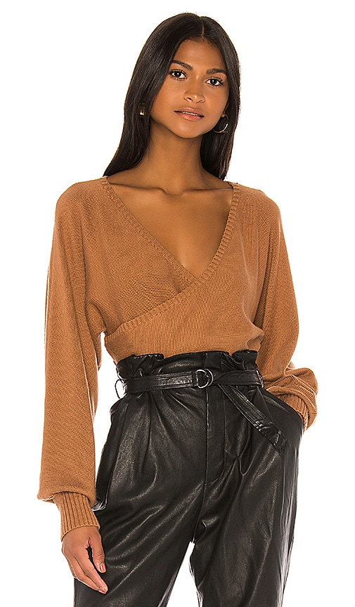 Nina Sweater In Brown by Camila Coelho