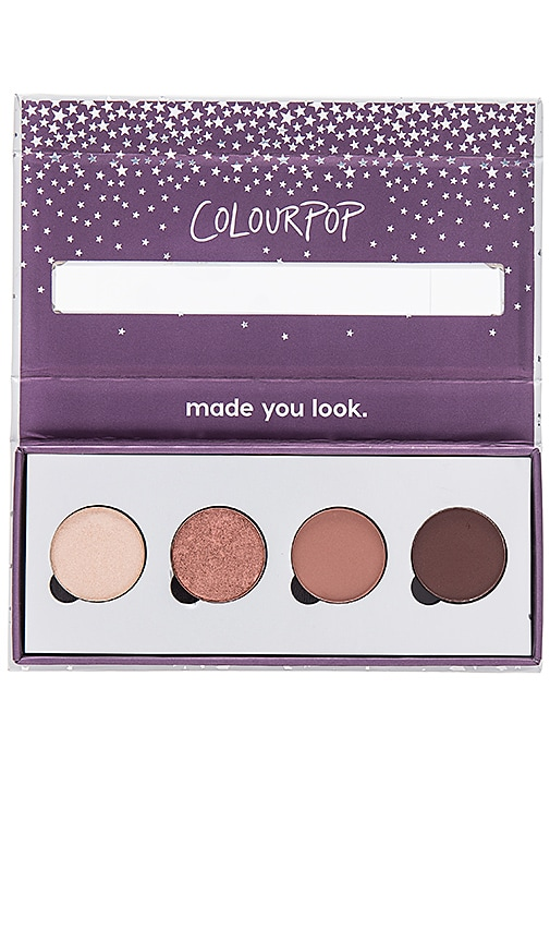 COLOURPOP X Revolve Pressed Powder Shadow Quad in Beauty: Multi