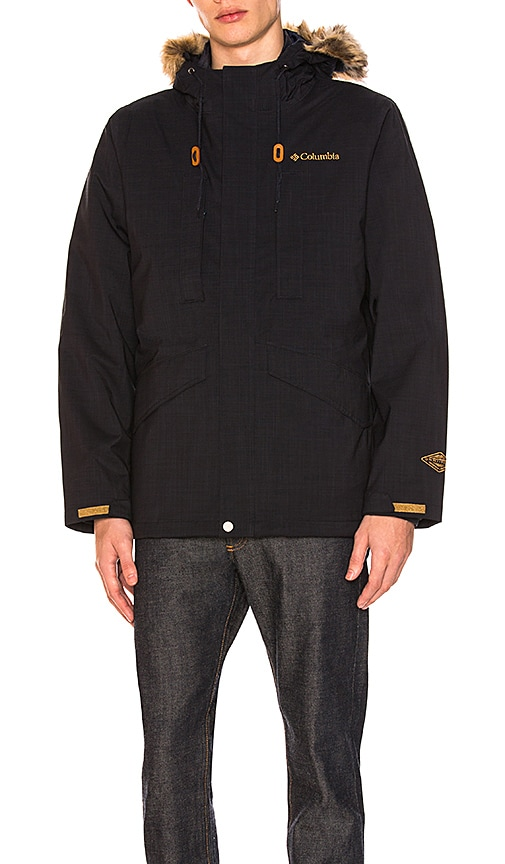 Columbia Japan Bean Bluff Interchange Jacket in Navy