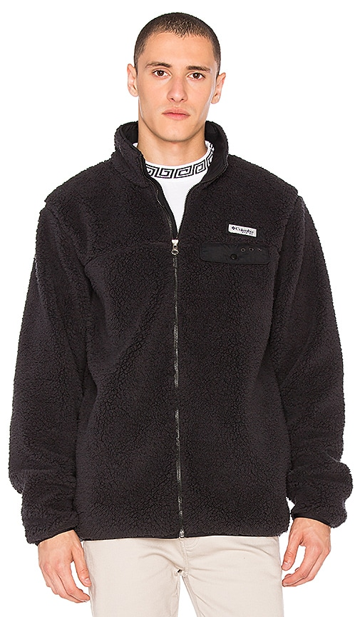Columbia Harborside Zip Fleece Jacket in Black