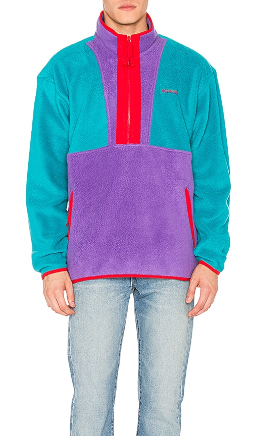 Columbia PNW CSC Originals Fleece Jacket in Turquoise