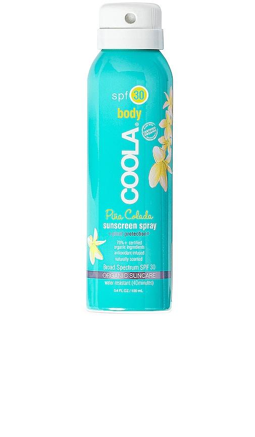 Travel Body SPF 30 Pina Colada Sunscreen Spray