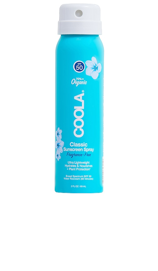 Travel Body SPF 50 Unscented Sunscreen Spray