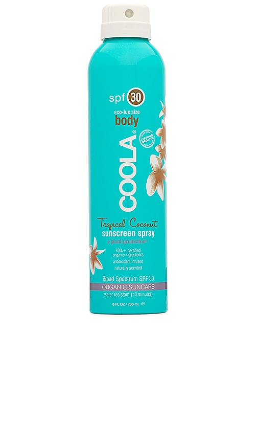 Eco-Lux Body SPF 30 Tropical Coconut Sunscreen Spray