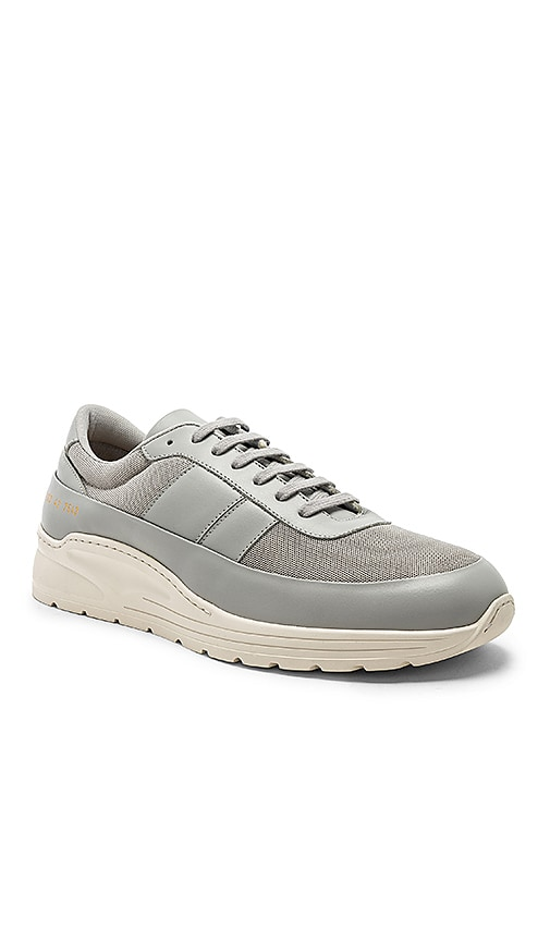 Common Projects Track Super Sneaker in Grey