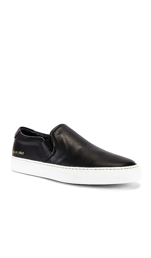 Common Projects Slip On in Black | REVOLVE