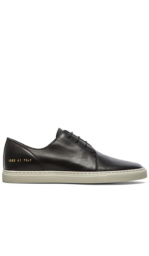 Common Projects Rec Shoe in Black