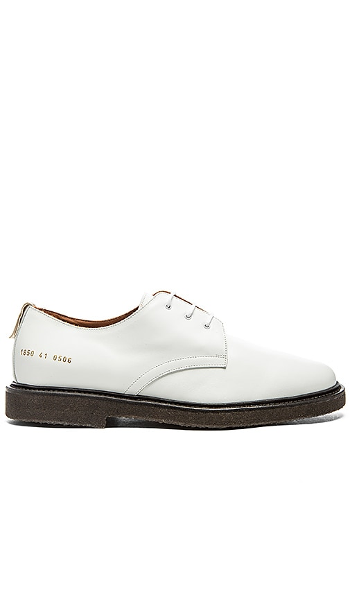 Common Projects Cadet Derby in White