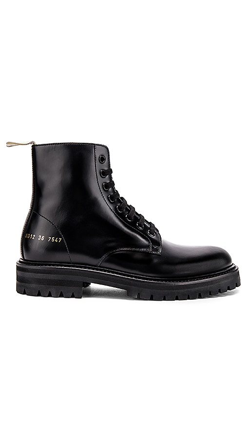 Standard Lug Sole Combat Boot