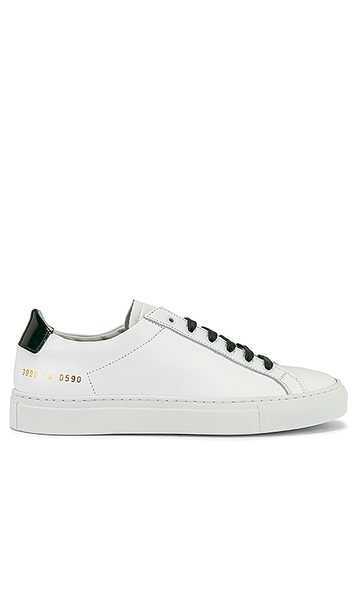 Retro Low Glossy Sneaker
