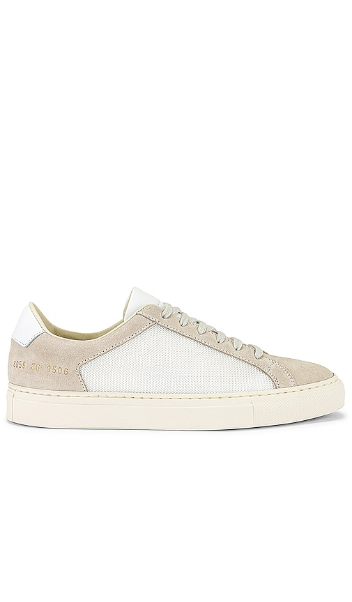Common Projects Leathers RETRO SUMMER EDITION SNEAKER