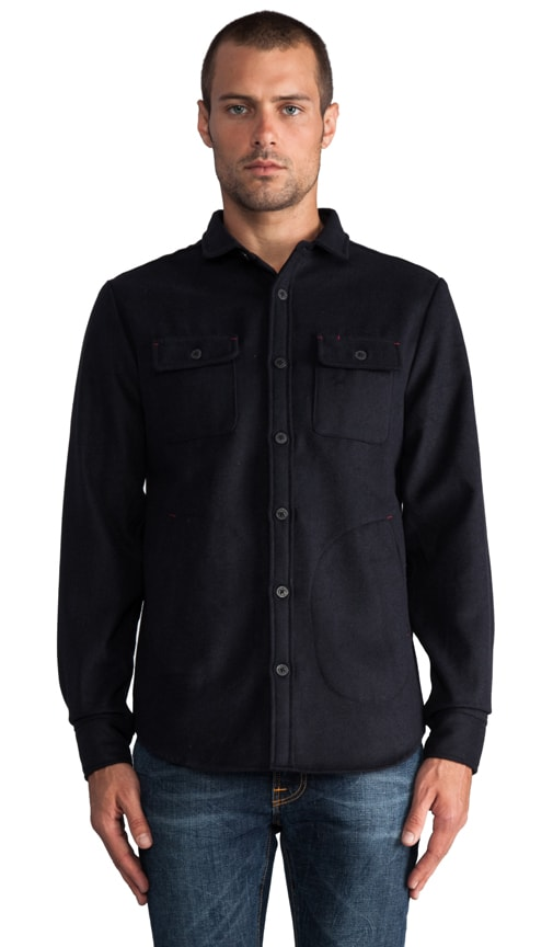 Claude L/S Button Down Shirt Jacket