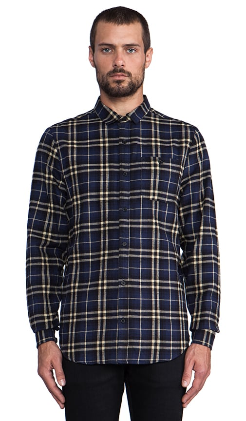 Barnes L/S Plaid Button Down