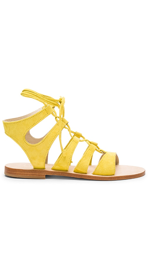 CoRNETTI Recommone Sandal in Lemon