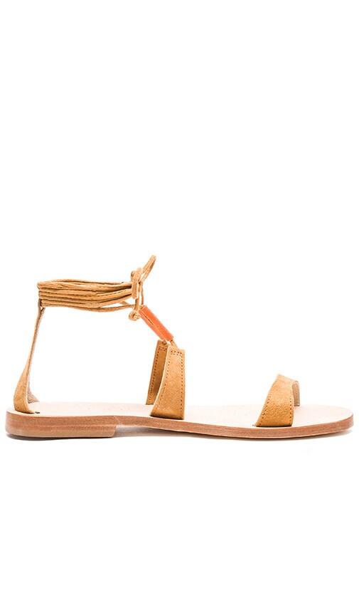 CoRNETTI Lannio Sandal in Tumeric Suede