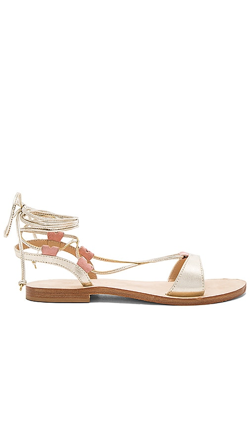 CoRNETTI Fontelina Sandal in Metallic Gold